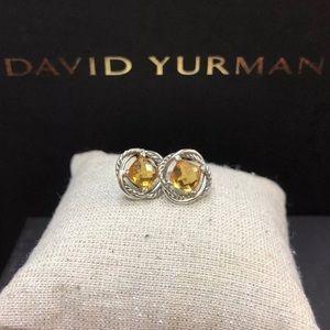 David Yurman Citrine infinity earrings